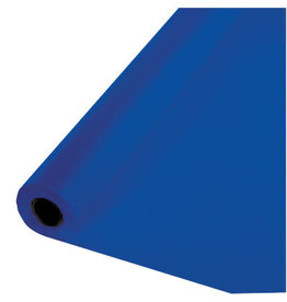 Touch of Color COBALT BLUE PLASTIC BANQUET ROLL