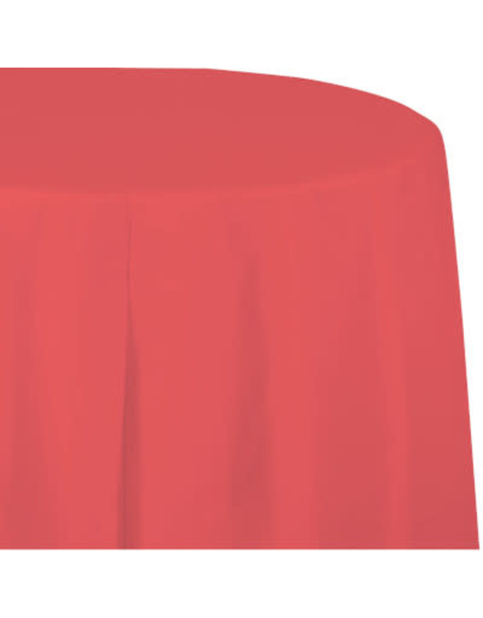 Touch of Color CORAL ROUND PLASTIC TABLECLOTH