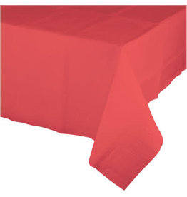 Touch of Color CORAL PAPER TABLECLOTH