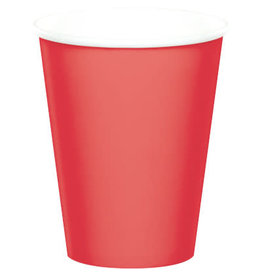 Touch of Color CORAL CUPS 9OZ
