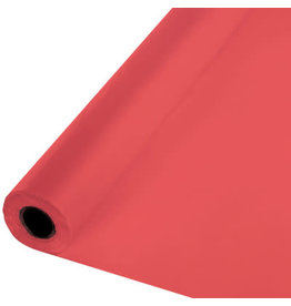Touch of Color CORAL PLASTIC BANQUET ROLL