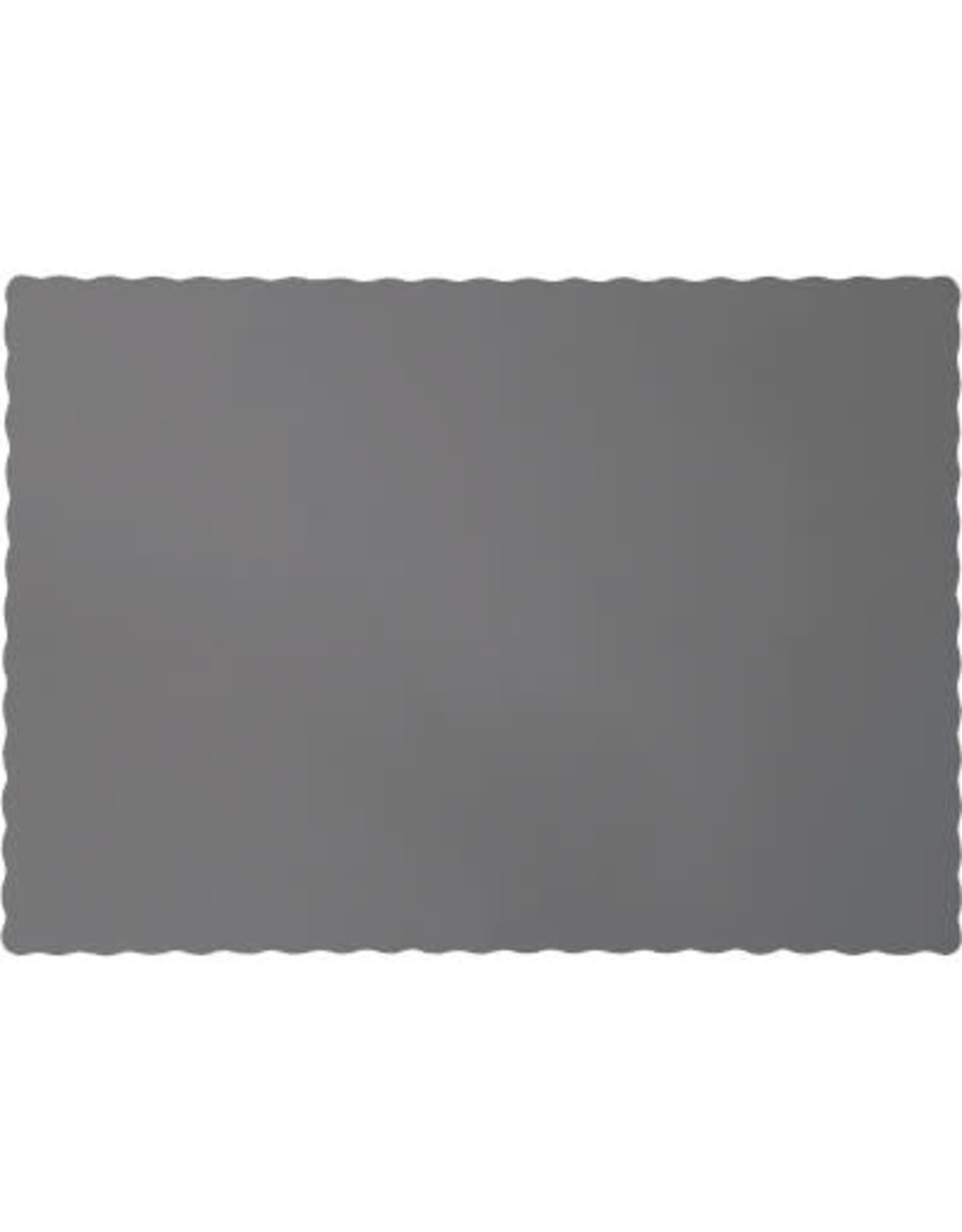 Touch of Color GLAMOUR GRAY PLACEMATS