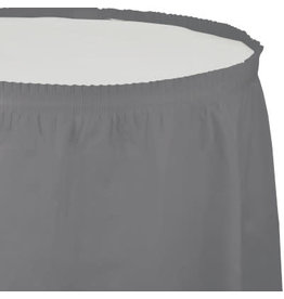 Touch of Color GLAMOUR GRAY TABLESKIRT