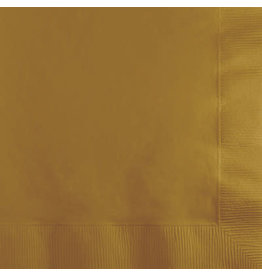 Touch of Color GLITTERING GOLD BEVERAGE NAPKINS