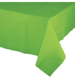 Touch of Color FRESH LIME GREEN PAPER TABLECLOTH