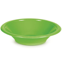 Touch of Color FRESH LIME GREEN 12 OZ PLASTIC BOWLS