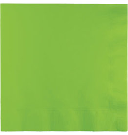 Touch of Color FRESH LIME GREEN LUNCH NAPKINS
