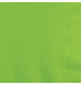 Touch of Color FRESH LIME GREEN BEVERAGE NAPKINS