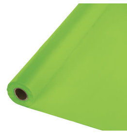 Touch of Color FRESH LIME GREEN PLASTIC BANQUET ROLL