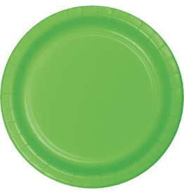 """Touch of Color 10"""" Fresh Lime Paper Banquet Plate"""