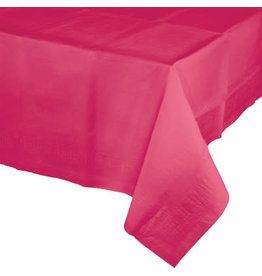 Touch of Color HOT MAGENTA PINK PAPER TABLECLOTH