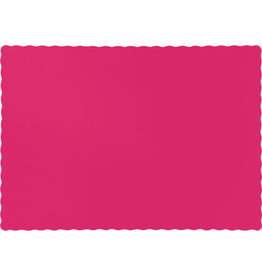 Touch of Color HOT MAGENTA PINK PLACEMATS