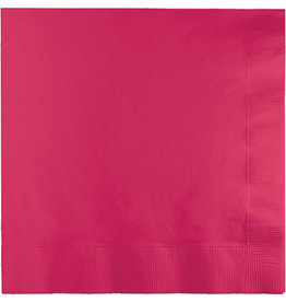 Touch of Color HOT MAGENTA LUNCH NAPKINS
