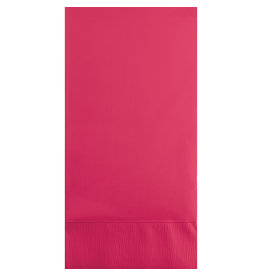 Touch of Color HOT MAGENTA PINK GUEST TOWELS