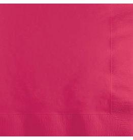 Touch of Color HOT MAGENTA PINK BEVERAGE NAPKINS