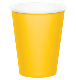 Touch of Color SCHOOL BUS YELLOW CUPS 9OZ