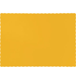 Touch of Color SCHOOL BUS YELLOW PLACEMATS