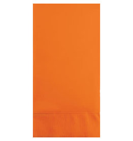 Touch of Color SUNKISSED ORANGE GUEST TOWELS