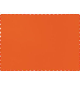 Touch of Color SUNKISSED ORANGE PLACEMATS