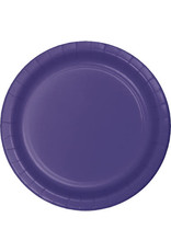 "Touch of Color 10"" Purple Paper Banquet Plate"