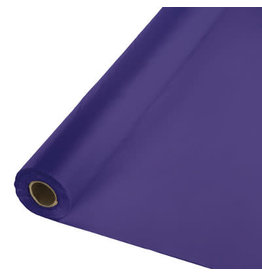 Touch of Color PURPLE PLASTIC BANQUET ROLL