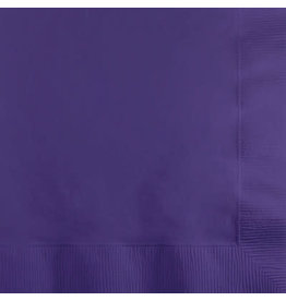 Touch of Color PURPLE BEVERAGE NAPKINS