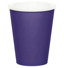 Touch of Color PURPLE CUPS 9OZ