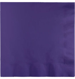 Touch of Color PURPLE LUNCH NAPKINS