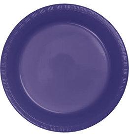 Touch of Color PURPLE PLASTIC BANQUET PLATES