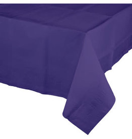 Touch of Color PURPLE PAPER TABLECLOTH