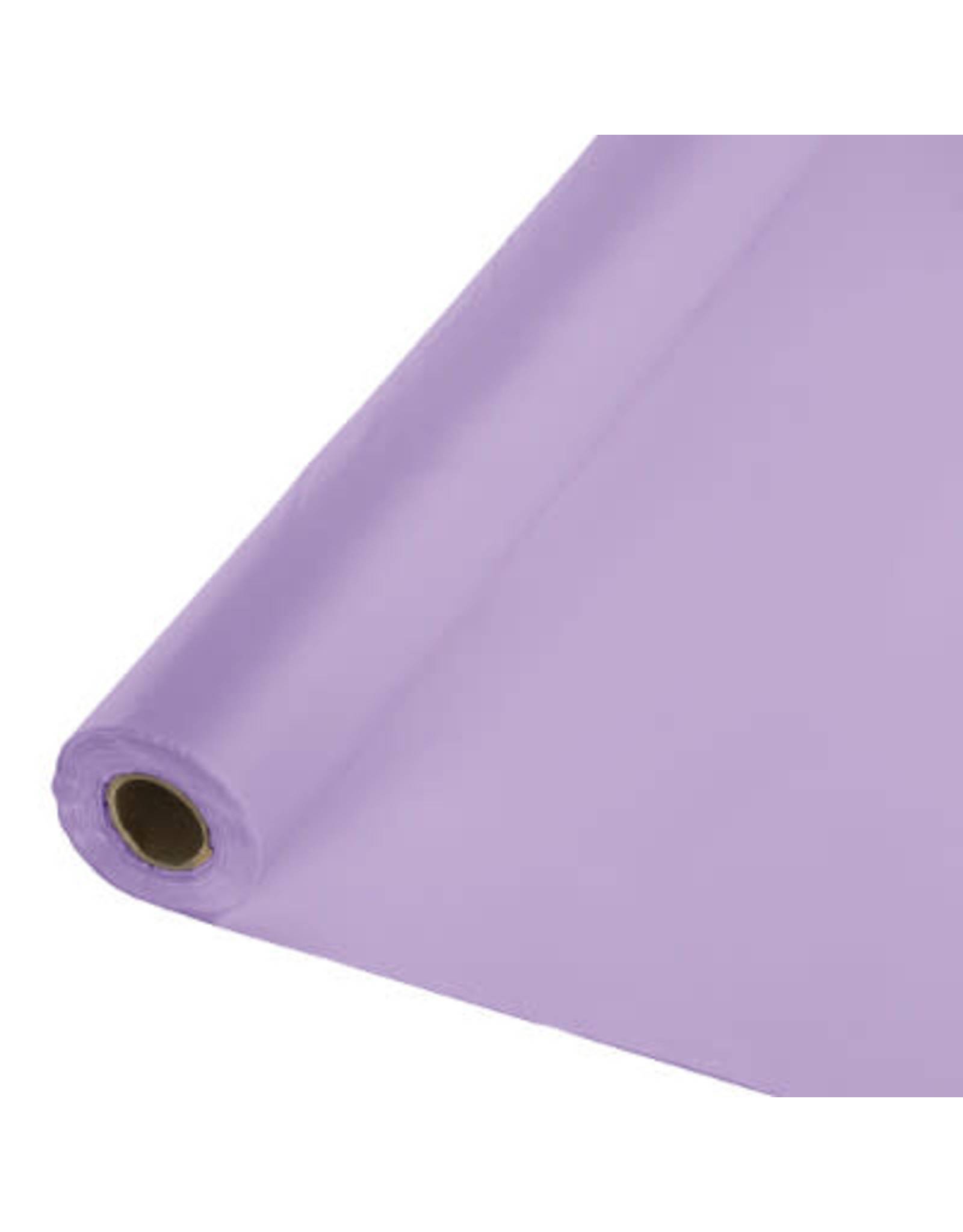 Touch of Color LUSCIOUS LAVENDER PURPLE PLASTIC BANQUET ROLL