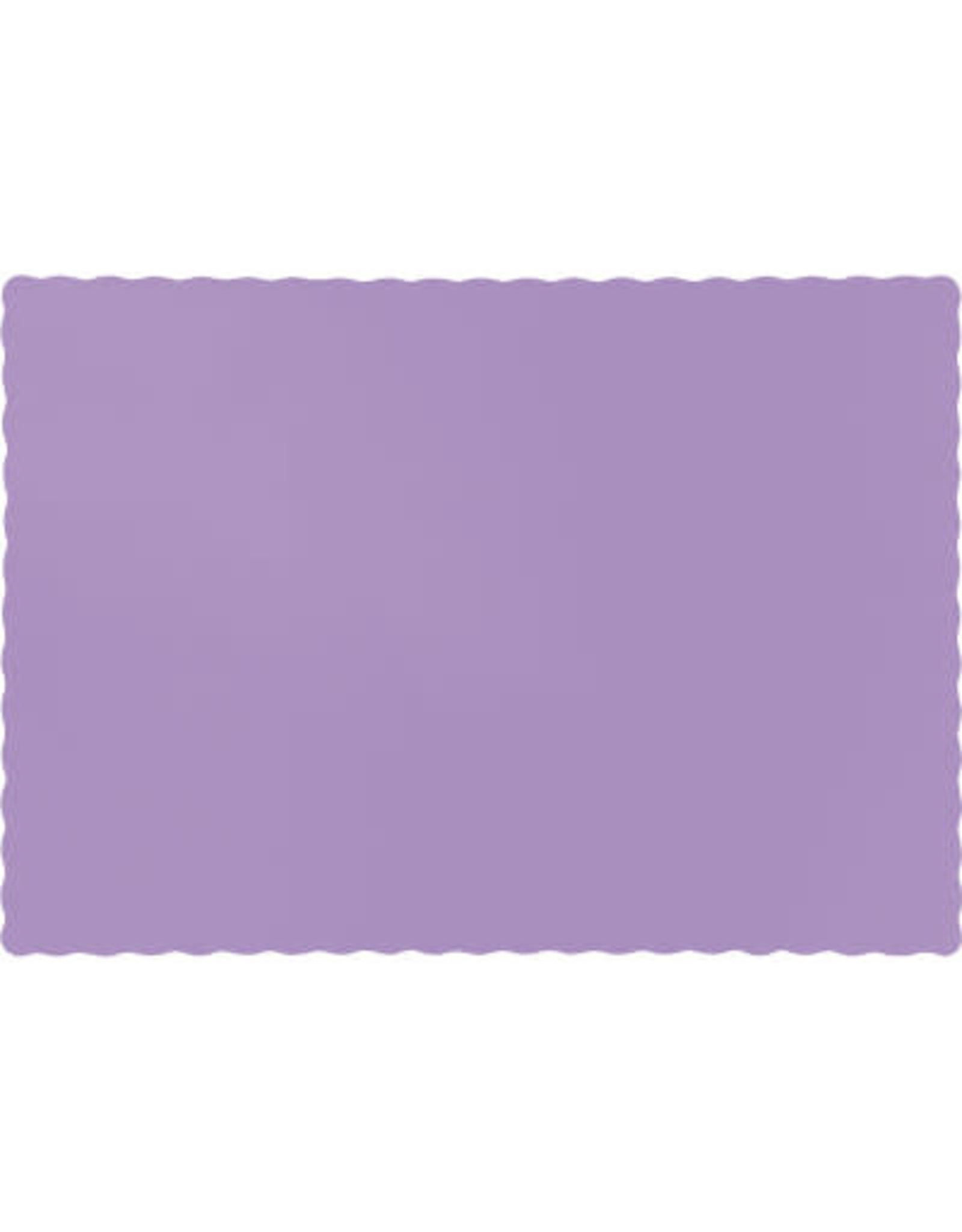 Touch of Color LUSCIOUS LAVENDER PURPLE PLACEMATS