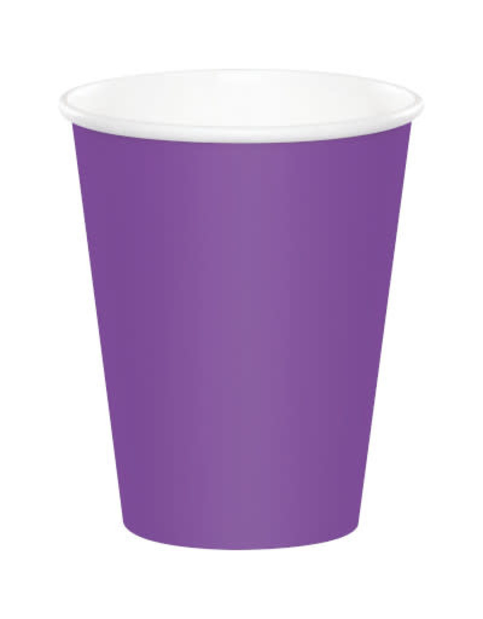 Touch of Color AMETHYST PURPLE CUPS 9OZ