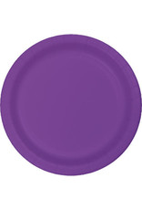 Touch of Color AMETHYST PURPLE DESSERT PLATES