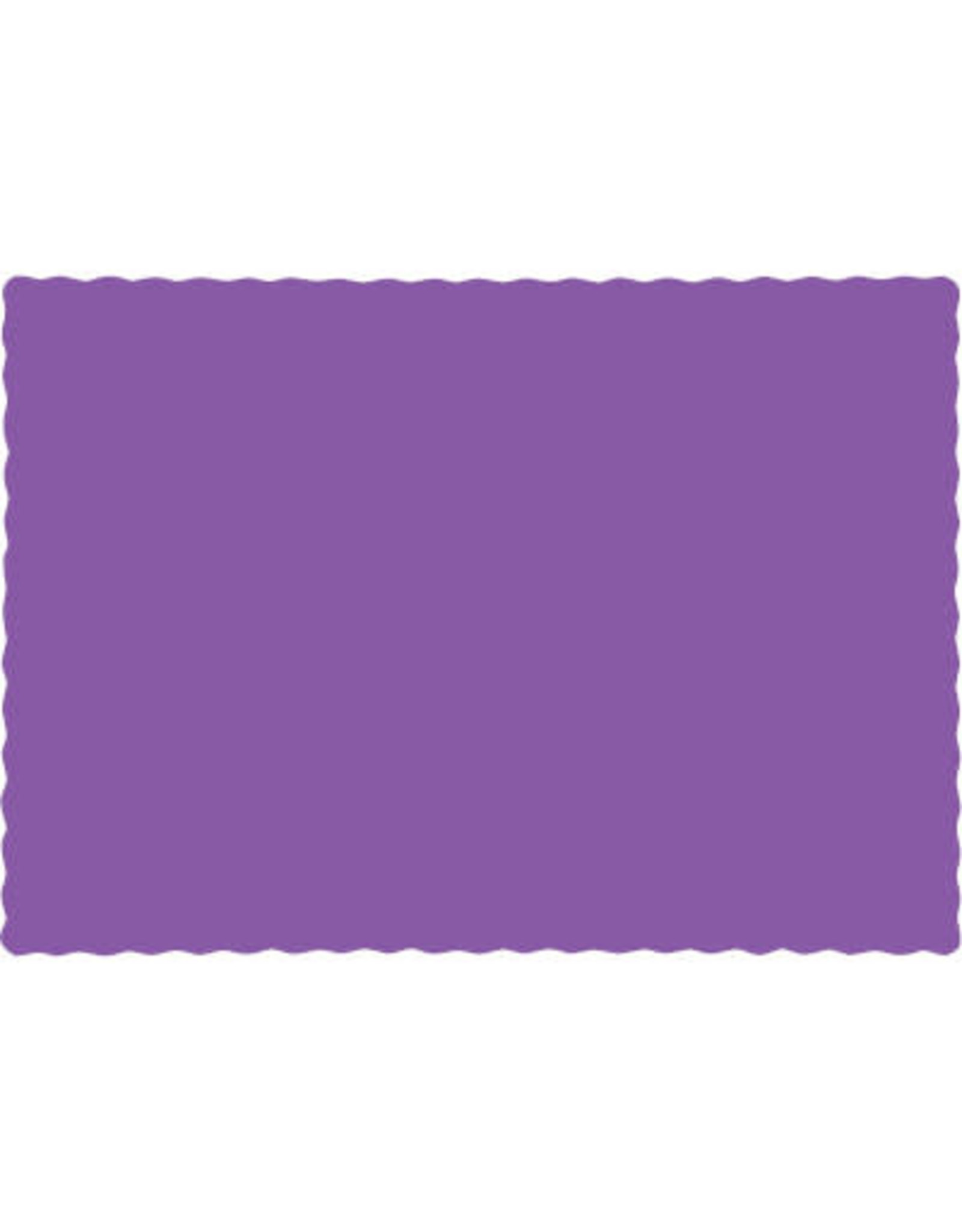 Touch of Color AMETHYST PURPLE PLACEMATS
