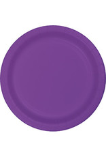 Touch of Color AMETHYST PURPLE PLASTIC BANQUET PLATES
