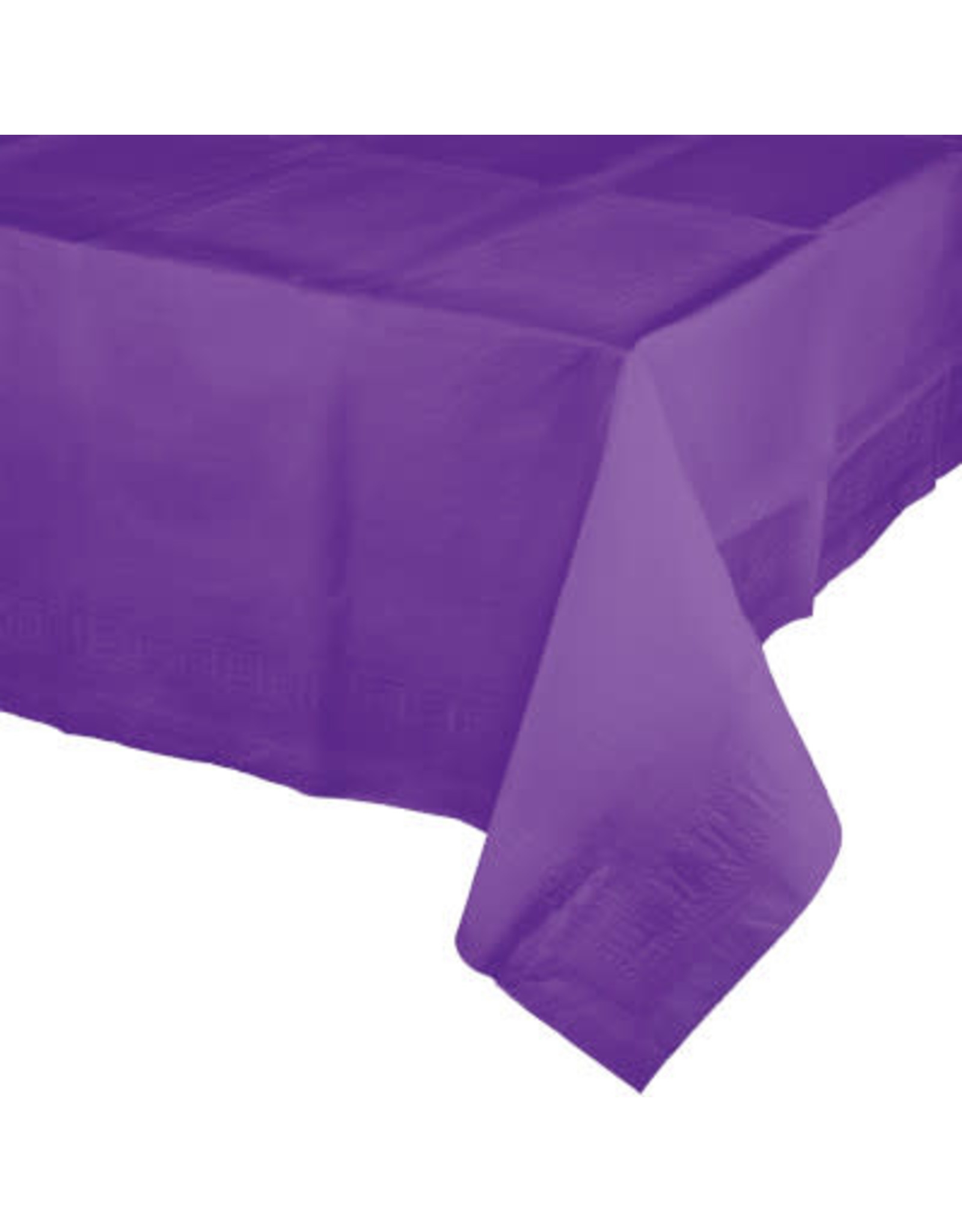 Touch of Color AMETHYST PURPLE PAPER TABLECLOTH