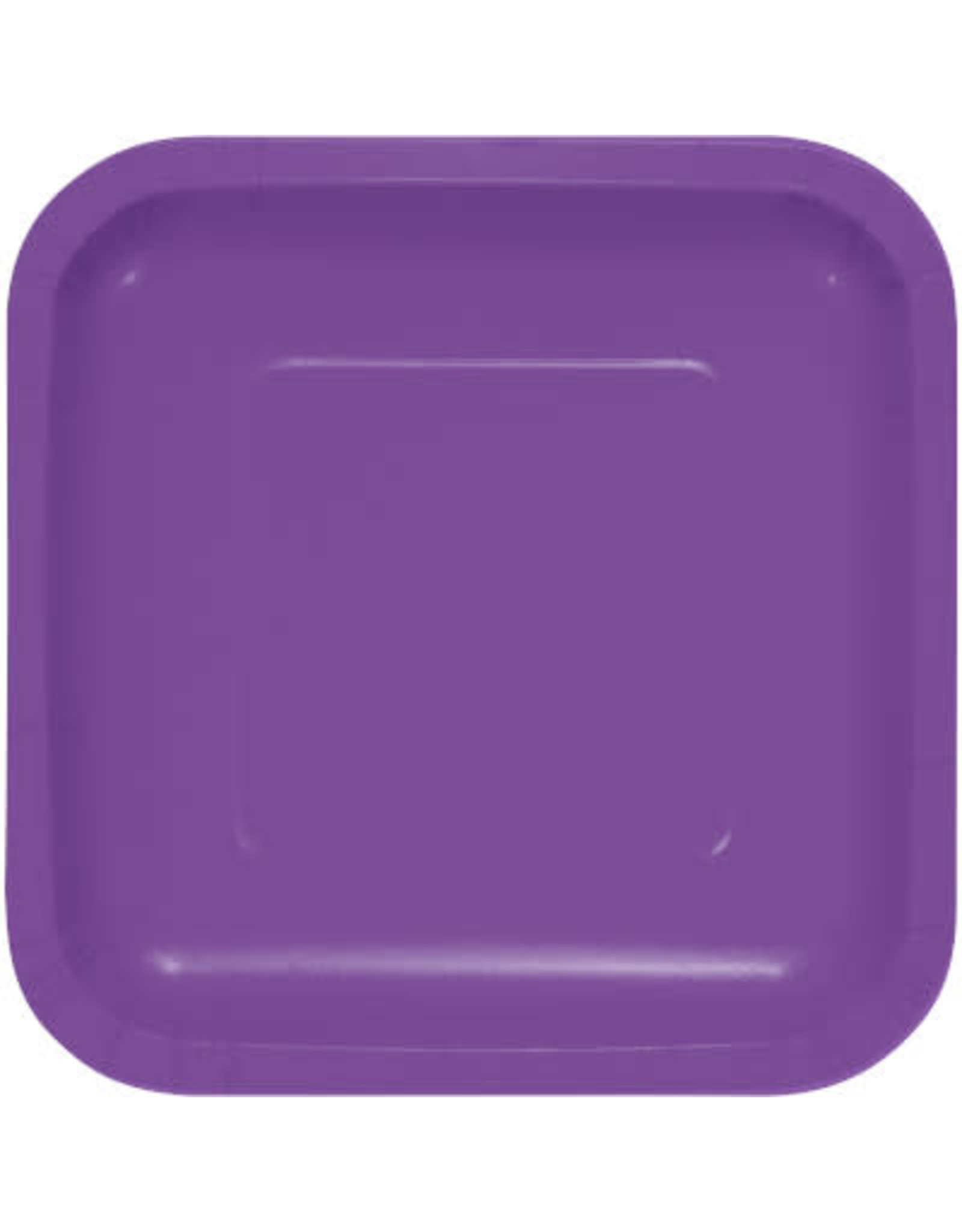 Touch of Color AMETHYST SQUARE DESSERT PLATES