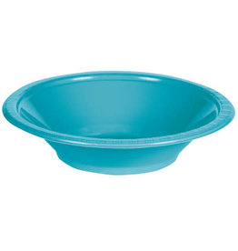 Touch of Color BERMUDA BLUE 12 OZ PLASTIC BOWLS
