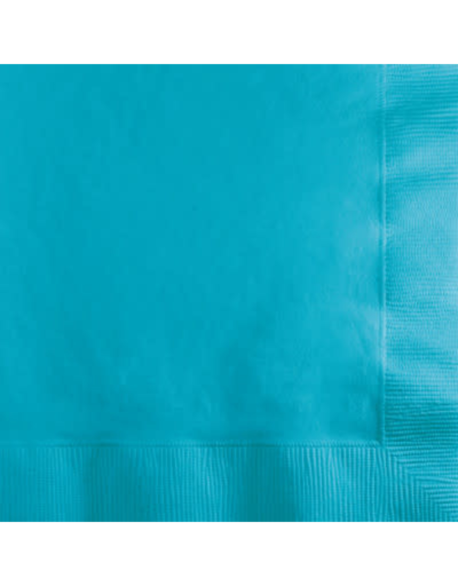 Touch of Color BERMUDA BLUE BEVERAGE NAPKINS