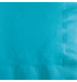 Touch of Color Bermuda Blue 50ct. Beverage Napkins
