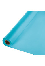 Touch of Color BERMUDA BLUE PLASTIC BANQUET ROLL