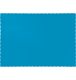 Touch of Color TURQUOISE BLUE PLACEMATS