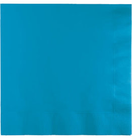 Touch of Color TURQUOISE BLUE LUNCH NAPKINS