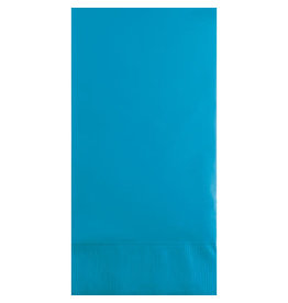 Touch of Color TURQUOISE BLUE GUEST TOWELS