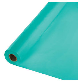 Touch of Color TEAL LAGOON BANQUET TABLE ROLL
