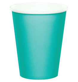Touch of Color TEAL LAGOON CUPS 9OZ