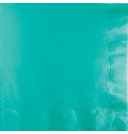 Touch of Color TEAL LAGOON LUNCH NAPKINS