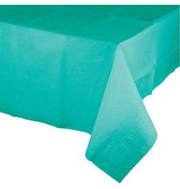 Touch of Color TEAL LAGOON PAPER TABLECLOTH