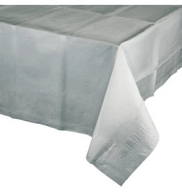 Touch of Color SHIMMERING SILVER PAPER TABLECLOTH